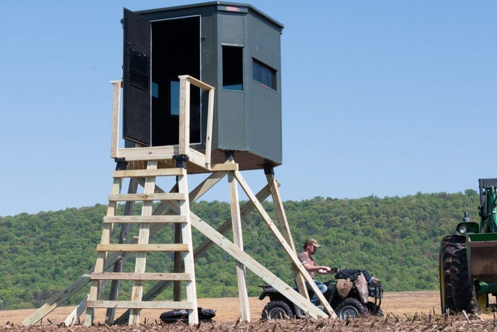 buying vs. building a tower blind