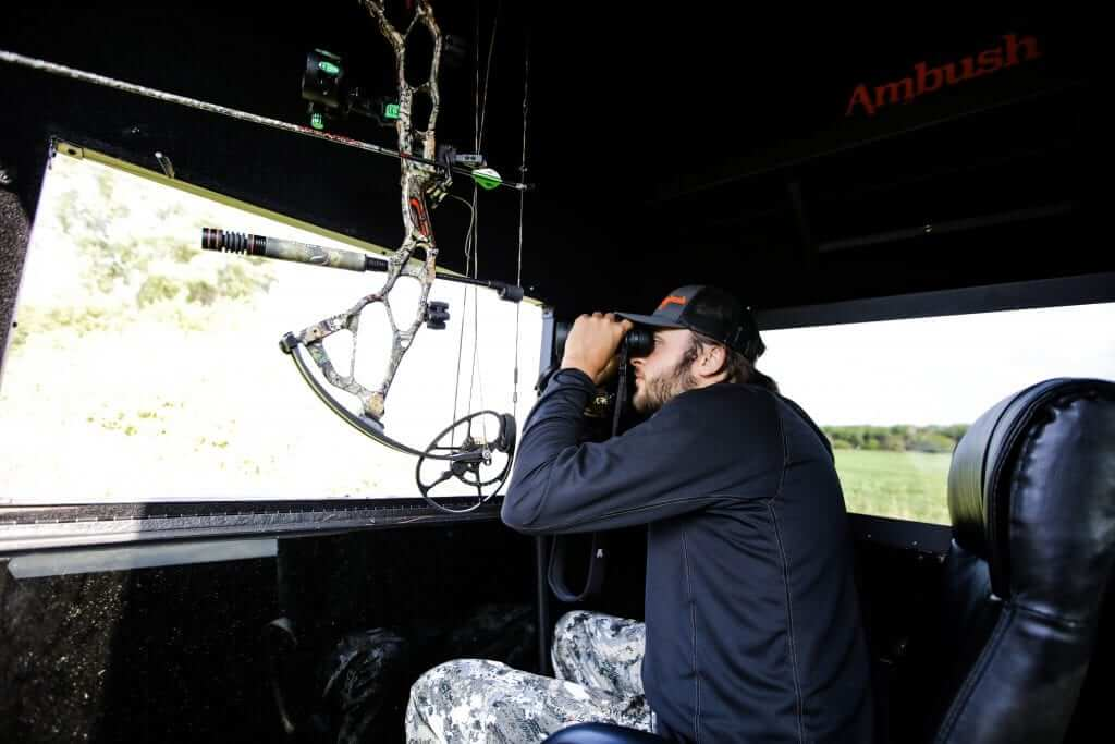 insulated deer hunting blinds