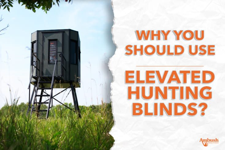 elevated hunting blinds graphic
