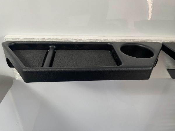 Skid House Accessory Tray with Cup Holder