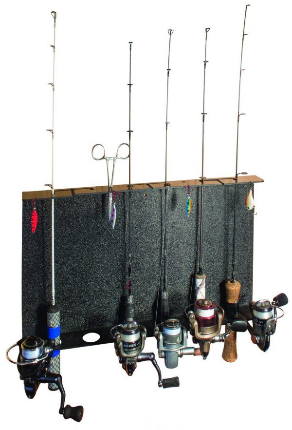 Ice Fishing Rod Rack by Catchcover