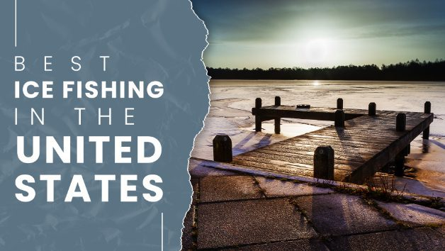 best ice fishing lakes in the US